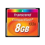 TRANSCEND Compact Flash 8GB [133x]